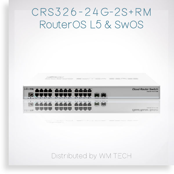 Crs326 24g 2s Rm 數位看板 Mikrotik Routerboard 台灣代理 新立通數位
